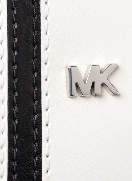 Handtaschen Michael Michael Kors CANTEEN MD schwarz ansicht von links