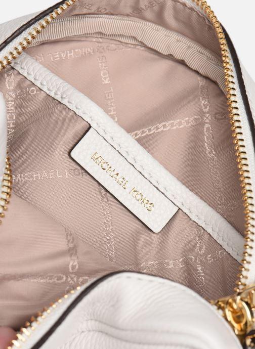 Handtassen Michael Michael Kors CANTEEN MD Wit achterkant