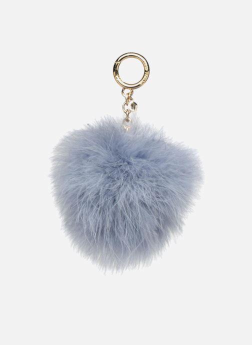Petite Maroquinerie Michael Michael Kors Charm Fur Pompom Bleu vue détail/paire
