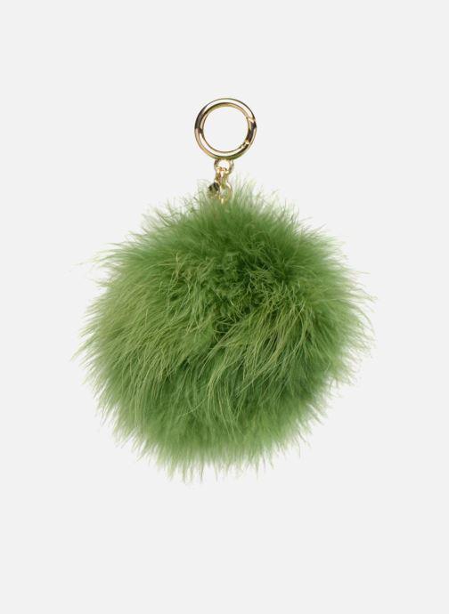 Petite Maroquinerie Michael Michael Kors Charm Fur Pompom Vert vue détail/paire