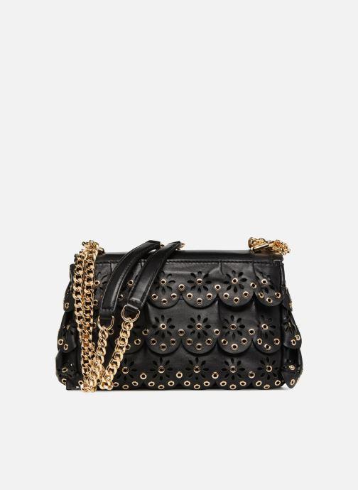 Handtaschen Michael Michael Kors Sloan SM Chain Shoulder schwarz ansicht von vorne