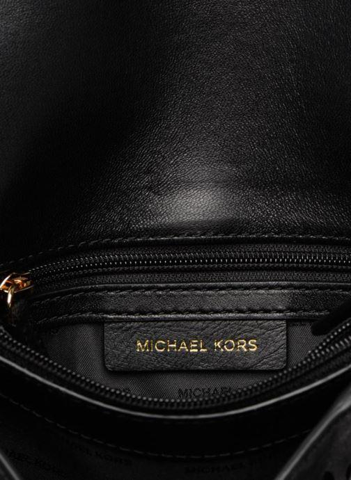 Handtaschen Michael Michael Kors Sloan SM Chain Shoulder schwarz ansicht von hinten