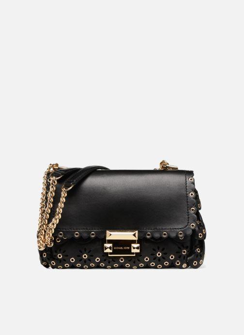 Handtaschen Michael Michael Kors Sloan SM Chain Shoulder schwarz detaillierte ansicht/modell