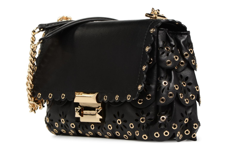 Handtaschen Michael Michael Kors Sloan SM Chain Shoulder schwarz schuhe getragen