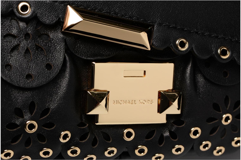 Handtaschen Michael Michael Kors Sloan SM Chain Shoulder schwarz ansicht von links