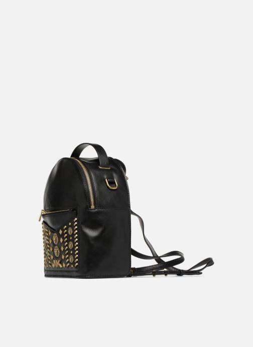 Mochilas Michael Michael Kors Jessa SM Convertible Backpack Negro vista del modelo