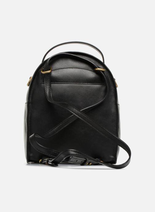 Rucksacks Michael Michael Kors Jessa SM Convertible Backpack Black front view