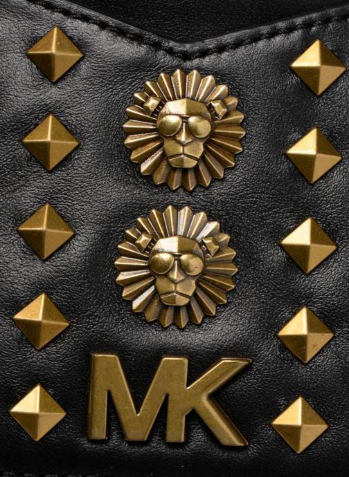 Mochilas Michael Michael Kors Jessa SM Convertible Backpack Negro vista lateral izquierda