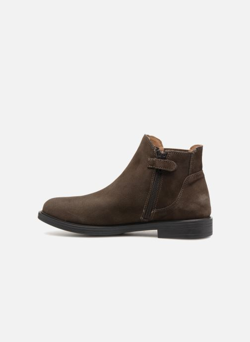 Ankle boots Unisa Olguis Grey front view