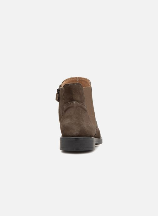 Ankle boots Unisa Olguis Grey view from the right