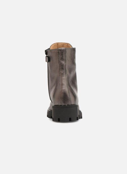 Bottines et boots Unisa Poty Argent vue droite