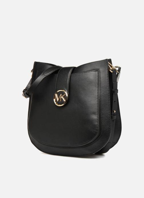 Handtassen Michael Michael Kors LILLIE LG HOBO Zwart model