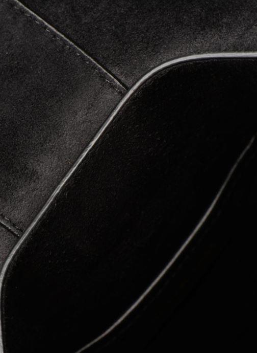 Handtassen Michael Michael Kors LILLIE MD FLAP MESSENGER Zwart achterkant