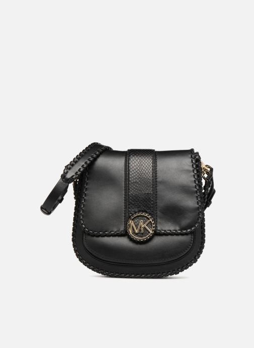 6f46aae1cfd6 Handbags Michael Michael Kors LILLIE MD FLAP MESSENGER Black detailed view/  Pair view