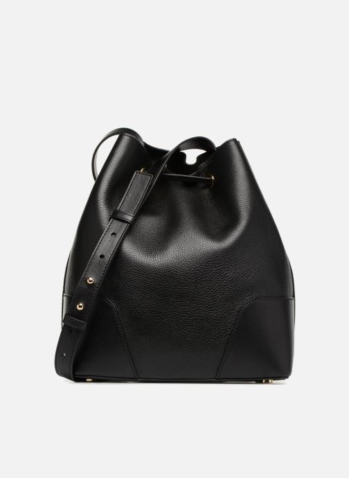 Handtassen Michael Michael Kors CARY MD BUCKET BAG Zwart voorkant