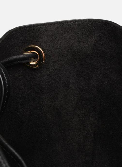 Handtassen Michael Michael Kors CARY MD BUCKET BAG Zwart achterkant