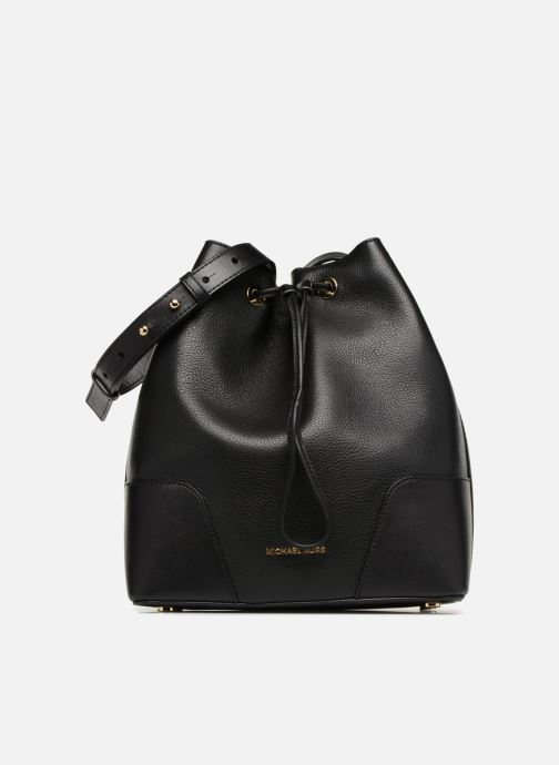Handtassen Michael Michael Kors CARY MD BUCKET BAG Zwart detail