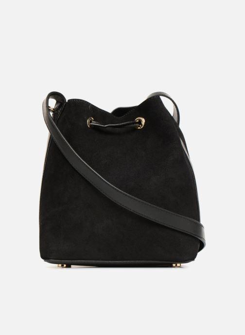 Handtaschen Michael Michael Kors CARY SM BUCKET BAG schwarz ansicht von vorne