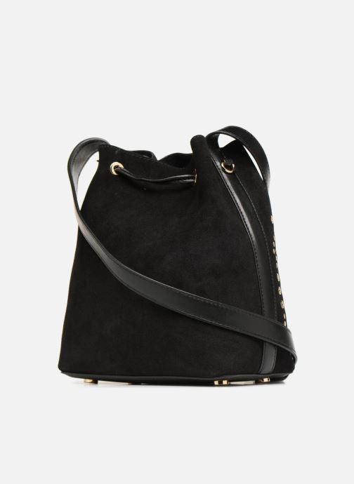 Handtaschen Michael Michael Kors CARY SM BUCKET BAG schwarz ansicht von rechts