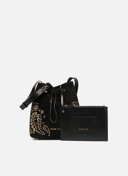 Handtaschen Michael Michael Kors CARY SM BUCKET BAG schwarz ansicht von links