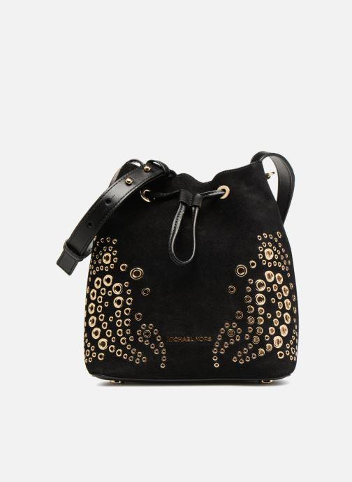 Handtaschen Michael Michael Kors CARY SM BUCKET BAG schwarz detaillierte ansicht/modell