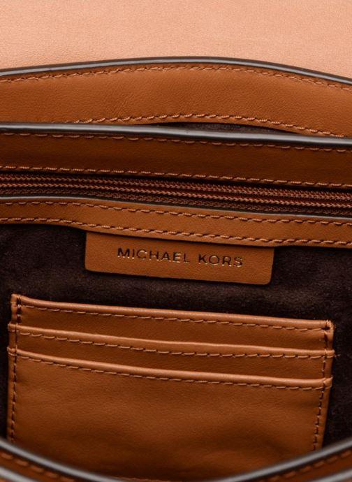 Sacs à main Michael Michael Kors CARY MD SADDLE BAG Marron vue derrière