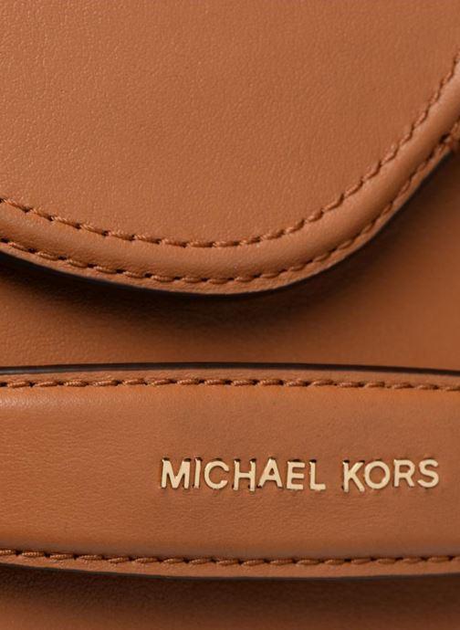 Sacs à main Michael Michael Kors CARY MD SADDLE BAG Marron vue gauche