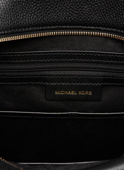 Sacs à main Michael Michael Kors Rollins LG Satchel Noir vue derrière
