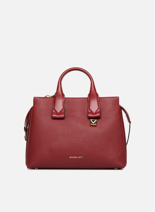 374a7d023639 Handbags Michael Michael Kors Rollins LG Satchel Red detailed view/ Pair  view