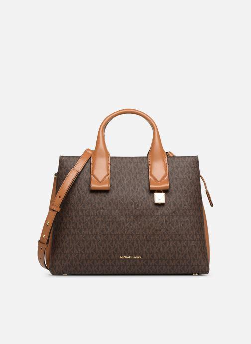 40b1c4418a563 Handtaschen Michael Michael Kors Rollins LG Satchel braun detaillierte  ansicht modell