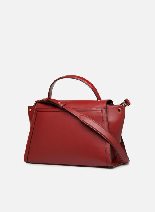 9d94bc05433c0d Handbags Michael Michael Kors Whitney LG TH Satchel Bag Red view from the  right