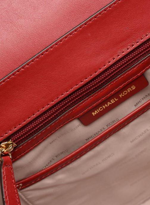 Handtassen Michael Michael Kors Whitney LG TH Satchel Bag Rood achterkant
