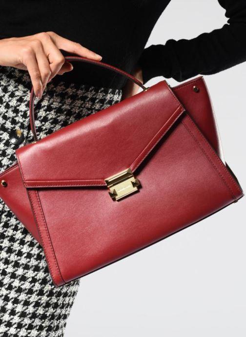 Michael Michael Kors Whitney LG TH Satchel Bag (Rouge