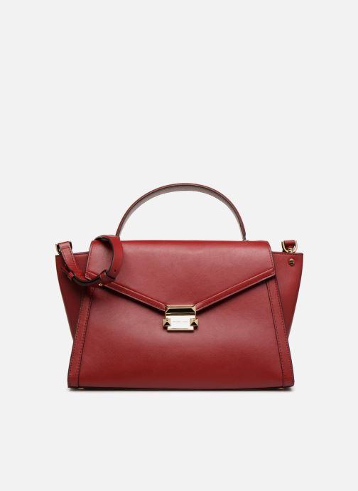 Handtassen Michael Michael Kors Whitney LG TH Satchel Bag Rood detail