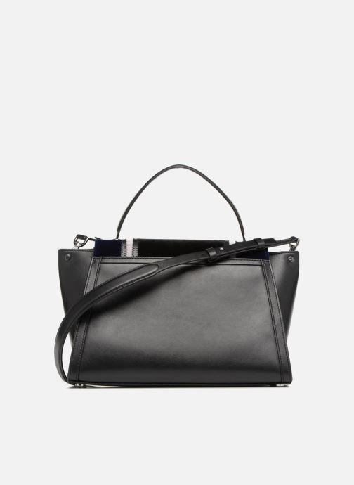 Handtassen Michael Michael Kors Whitney LG TH Satchel Bag Zwart voorkant