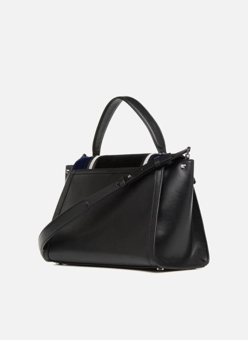 Bolsos de mano Michael Michael Kors Whitney LG TH Satchel Bag Negro vista lateral derecha