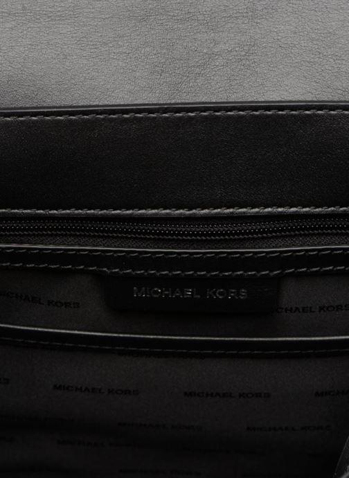 Handtassen Michael Michael Kors Whitney LG TH Satchel Bag Zwart achterkant