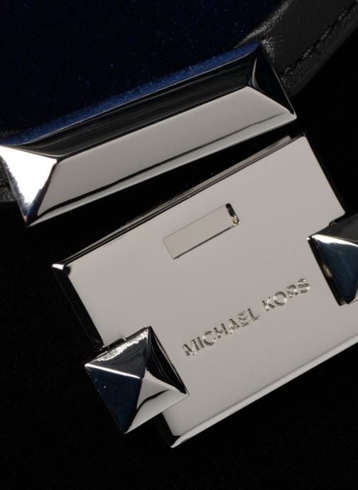 Handtassen Michael Michael Kors Whitney LG TH Satchel Bag Zwart links