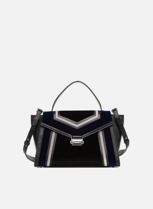 Handtassen Michael Michael Kors Whitney LG TH Satchel Bag Zwart detail
