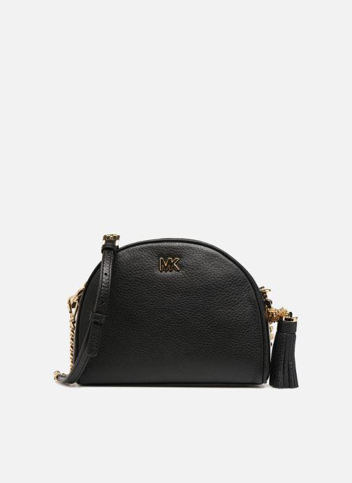 a1b3a8dd73be Handbags Michael Michael Kors MD HALF MOON CROSSBODY Black detailed view   Pair view