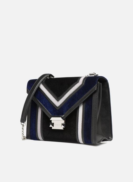 Handtassen Michael Michael Kors Whitney LG Shoulder Bag Blauw model
