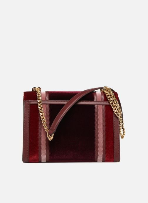 Handtassen Michael Michael Kors Whitney LG Shoulder Bag Bordeaux voorkant