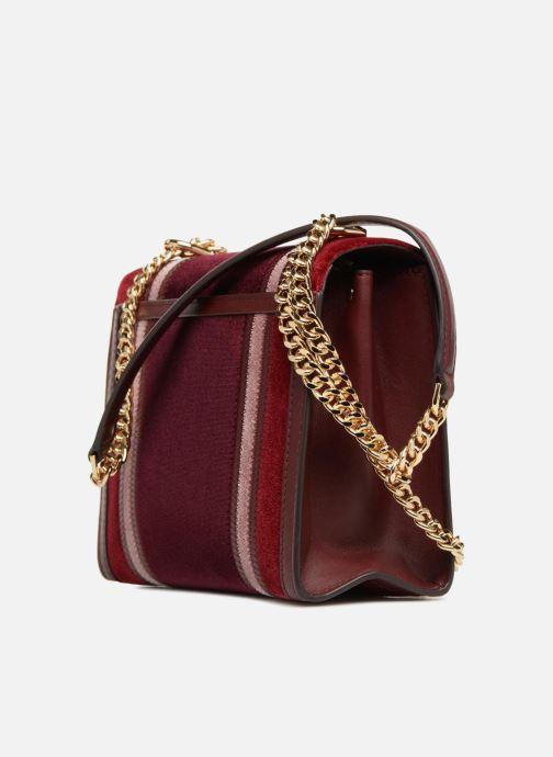 Handtassen Michael Michael Kors Whitney LG Shoulder Bag Bordeaux rechts