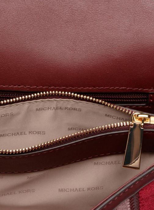 Handtassen Michael Michael Kors Whitney LG Shoulder Bag Bordeaux achterkant