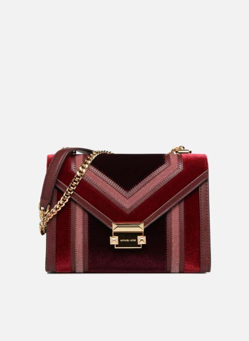 Handtassen Michael Michael Kors Whitney LG Shoulder Bag Bordeaux detail
