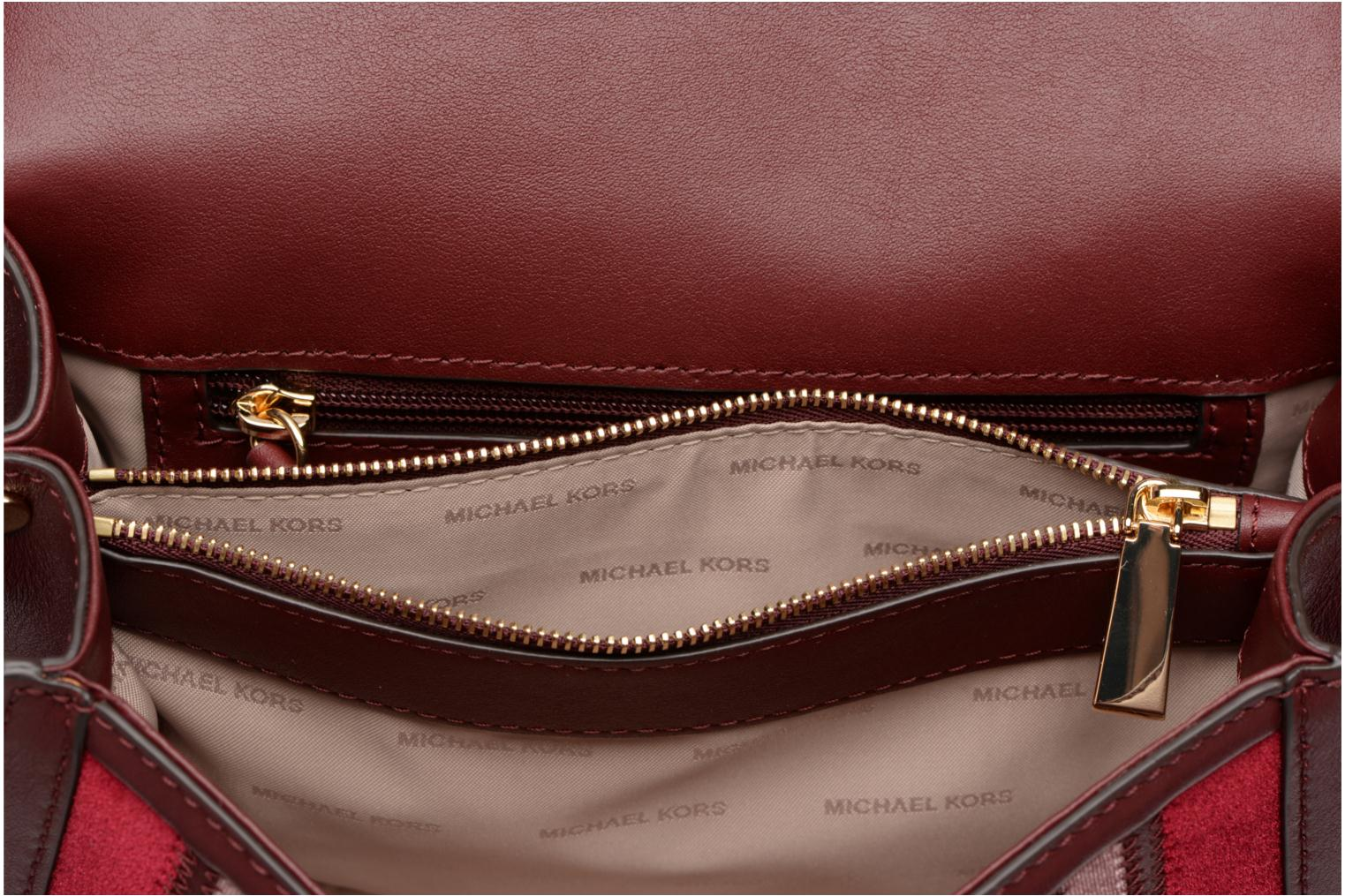 Sacs à main Michael Michael Kors Whitney LG Shoulder Bag Bordeaux vue derrière