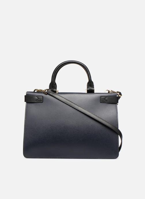 Handtaschen Michael Michael Kors Tatiana MD Satchel blau ansicht von vorne