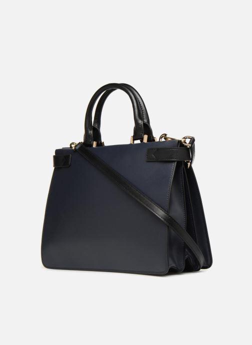 Handtaschen Michael Michael Kors Tatiana MD Satchel blau ansicht von rechts