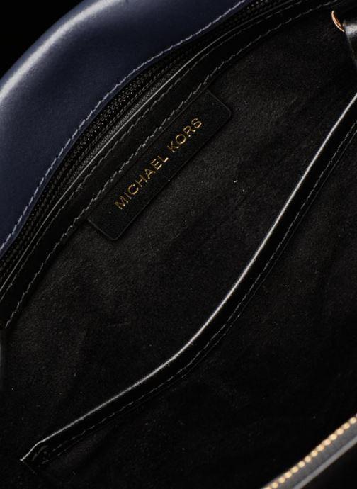 Handtaschen Michael Michael Kors Tatiana MD Satchel blau ansicht von hinten