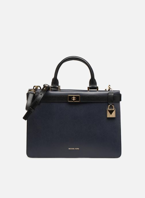 Handtaschen Michael Michael Kors Tatiana MD Satchel blau detaillierte ansicht/modell